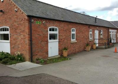 RAF Association Side Building